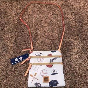 NWT Milwaukee Brewers Dooney & Bourke crossbody